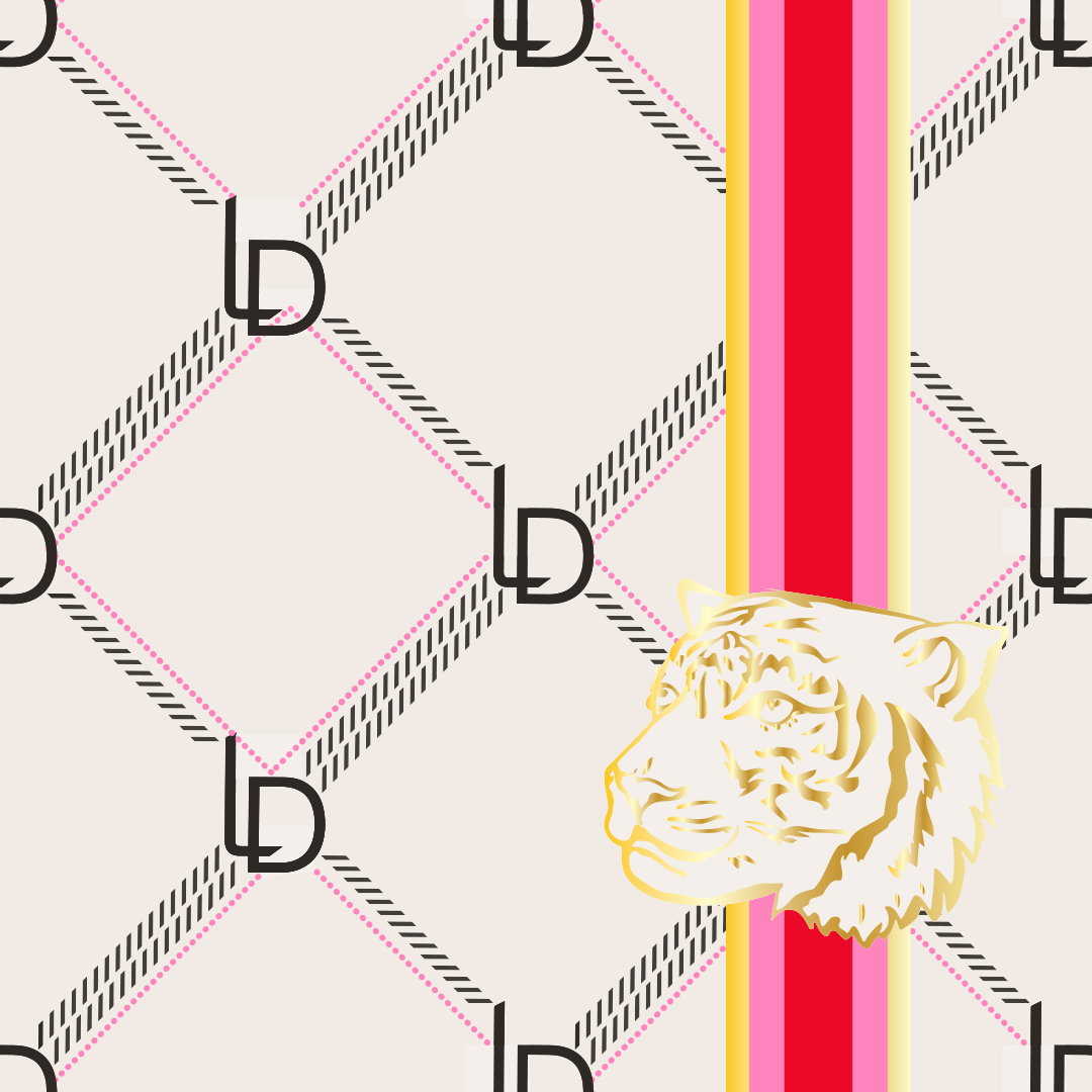 LD logo streep tijger